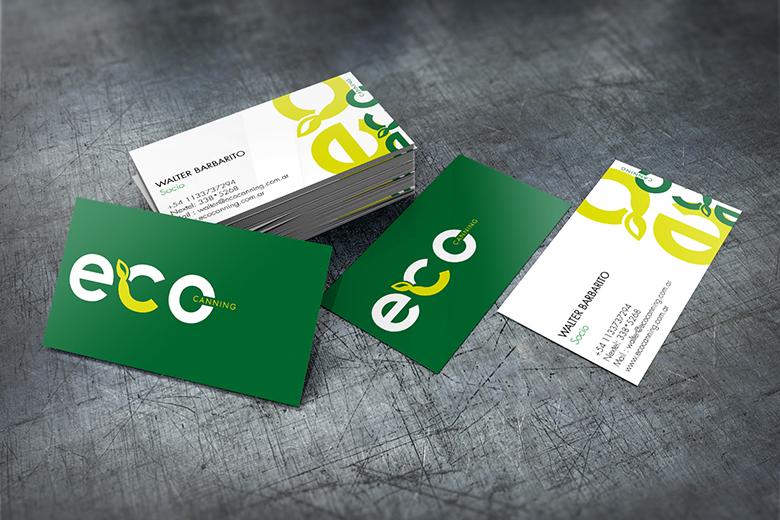 Tarjetas personales | Eco Canning