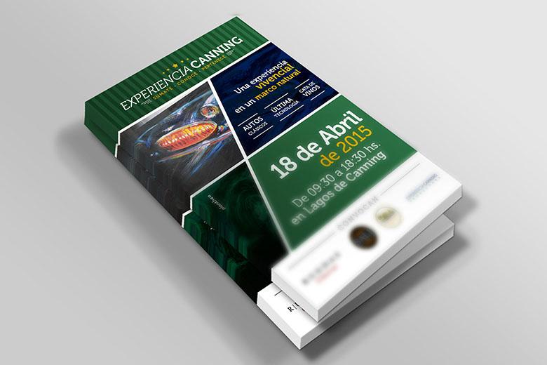 Flyer promocional | Experiencia Canning Productora