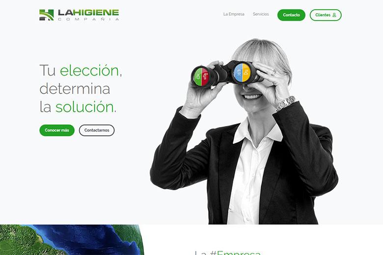 Website | La Higiene Compañía