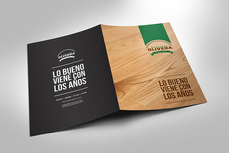 Carpeta comercial | Maderera Olivera