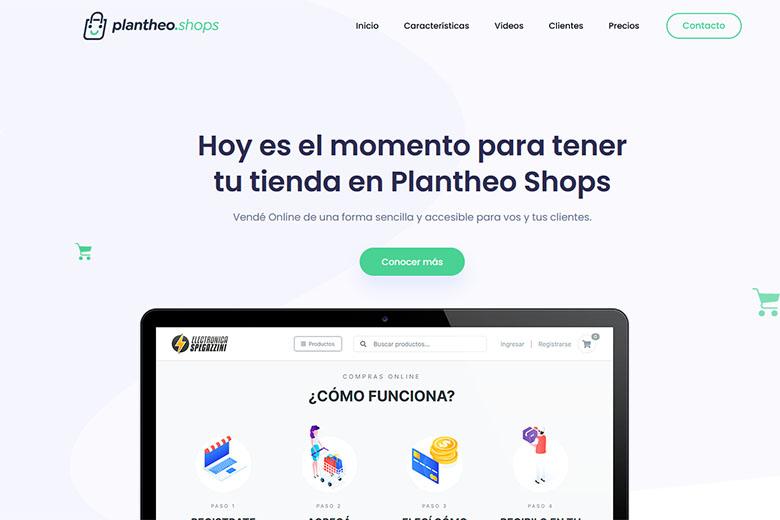 Sistema de Tiendas Online | Plantheo Shops