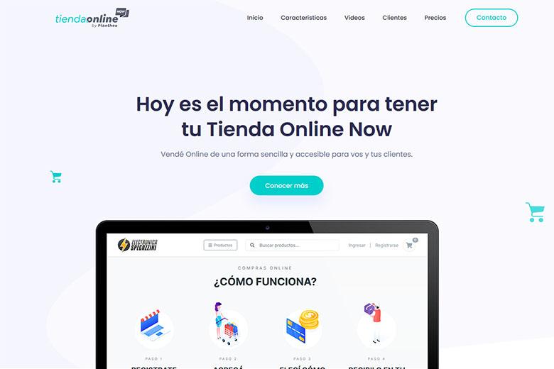 Sistema de Tiendas Online | Tienda Online Now